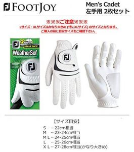 FootJoy WeatherSof 2 Golf Glove