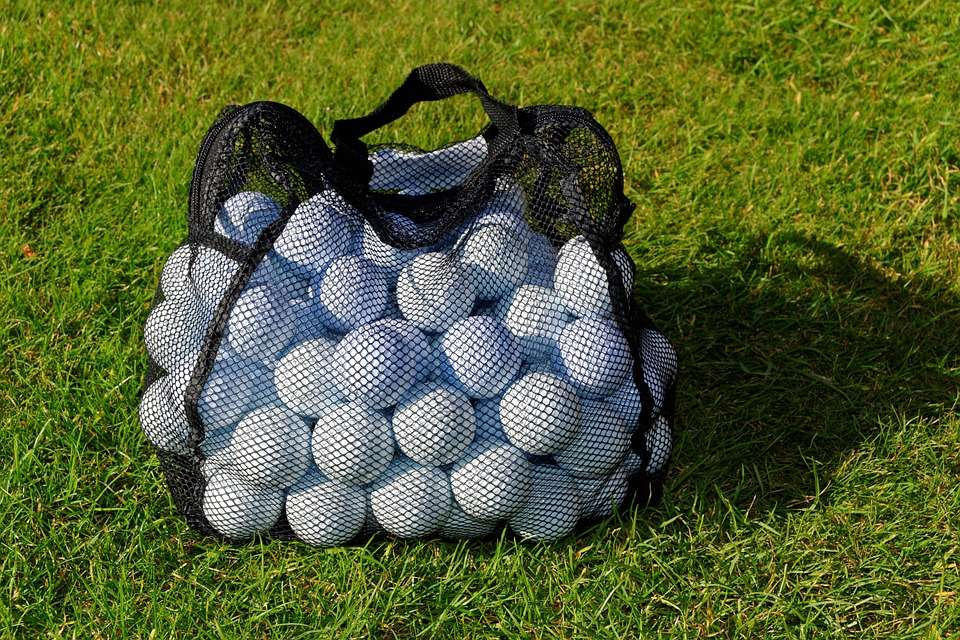 Golf Balls Background
