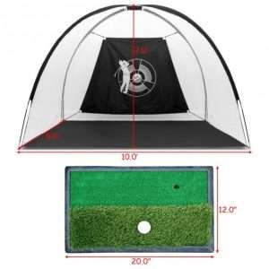 Large Hitting Area Golf Practice Set