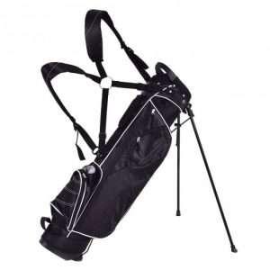 Lightweight Golf Stand Bag 3.5 Pounds Black