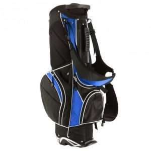 Golf Cart Stand Bag 6 Way Top 6 Pounds Blue